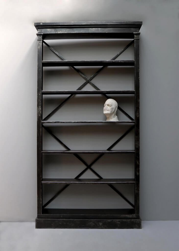 Belgian industrial bookcase from the 20th century at Studio Oliver Gustav