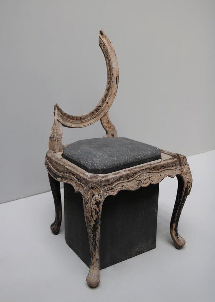 James plumb concrete chair at studio oliver gustav