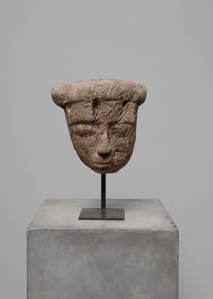 Pre-historical Mummy Mask antique curiosites at studio oliver gustav