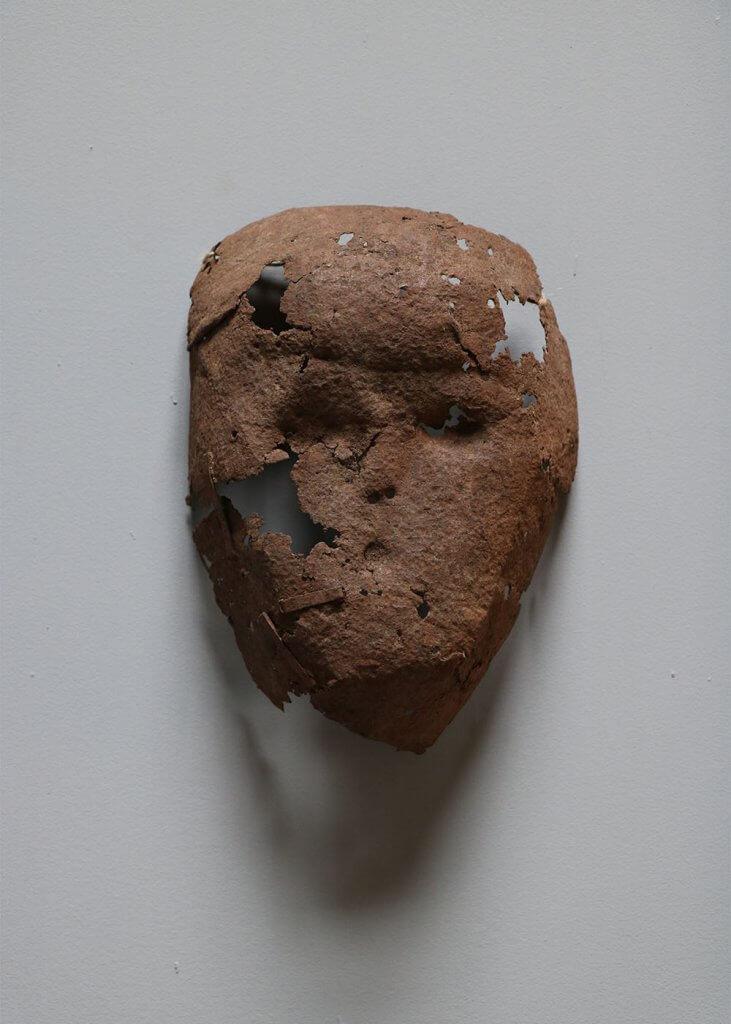 Interior design curiosity antique Dogon mask from Mali