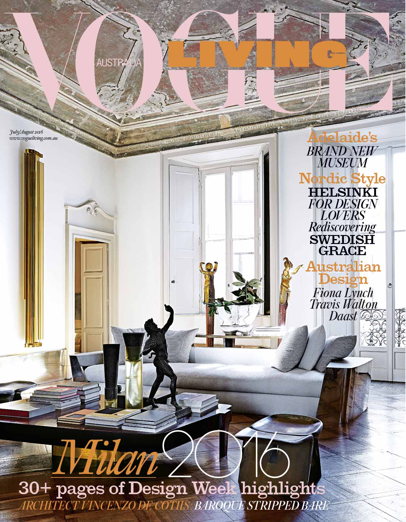 Vogue Living studio Oliver gustav