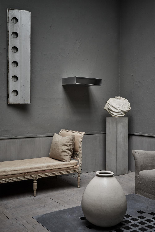 Minimalistic and artisanal scandinavian interior design