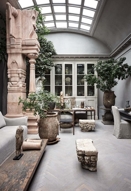 Scandinavian furniture and antique interior design at Studio Oliver Gustav