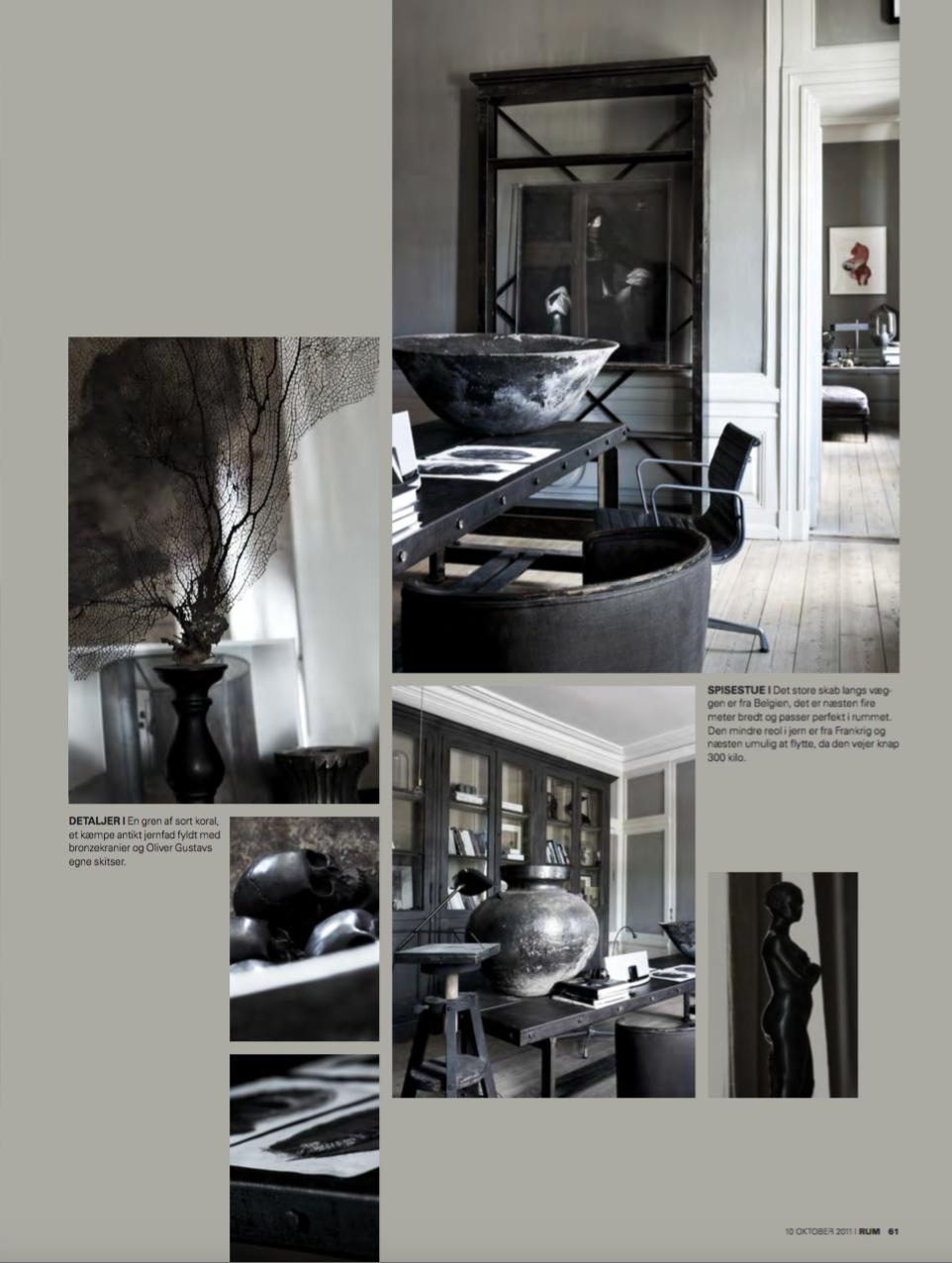 Interview in RUM magazine with studio Oliver Gustav