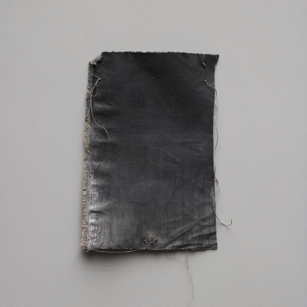 Graphite on canvas is an art work by the danish artist Rasmus Rosengaard represented at Studio Oliver Gustav.