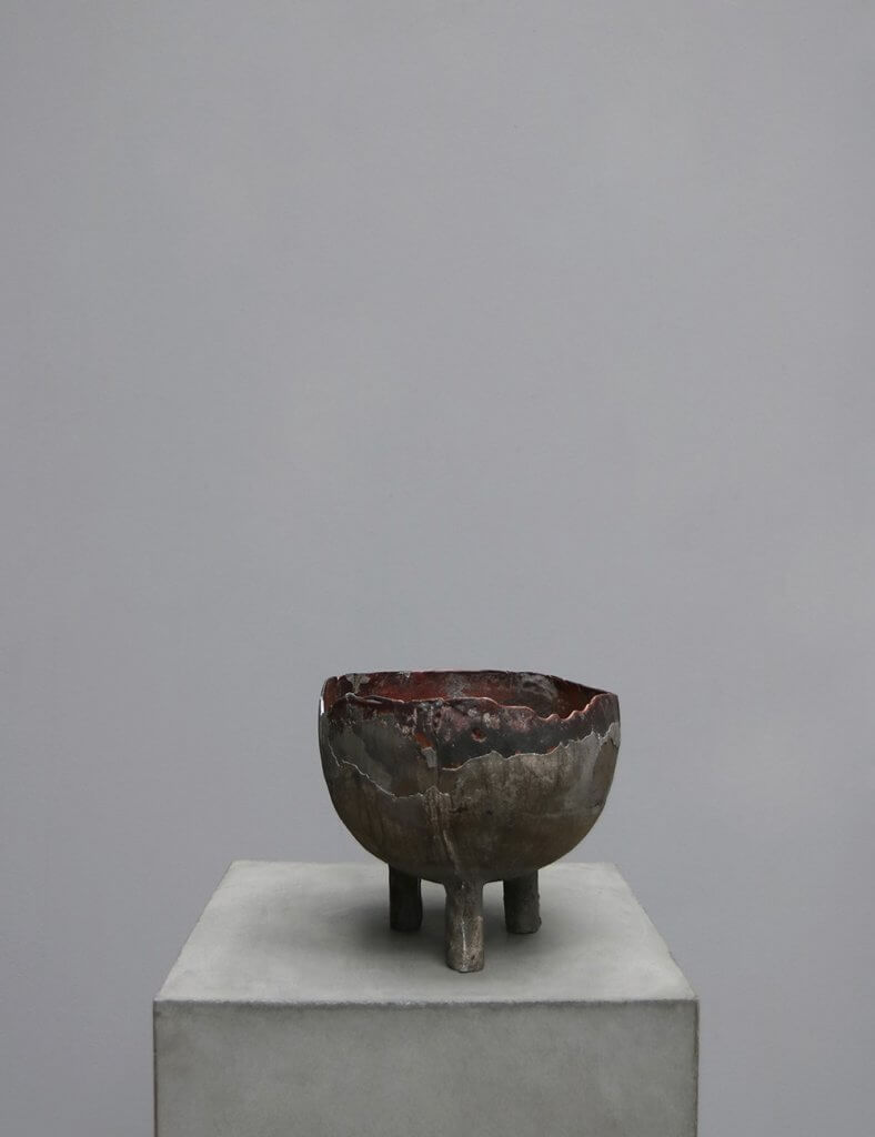 Peter Bauhuis Copper and Pewter sculpture