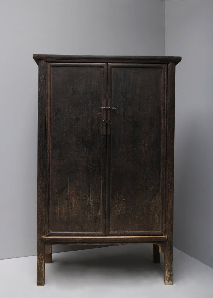 Antique wooden elm tree cabinet from 19th century China