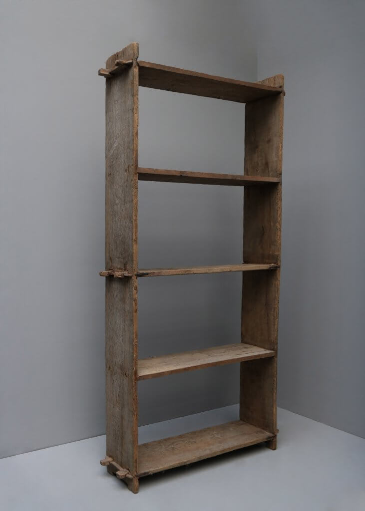 Antique Wooden bookcase from the 19th century