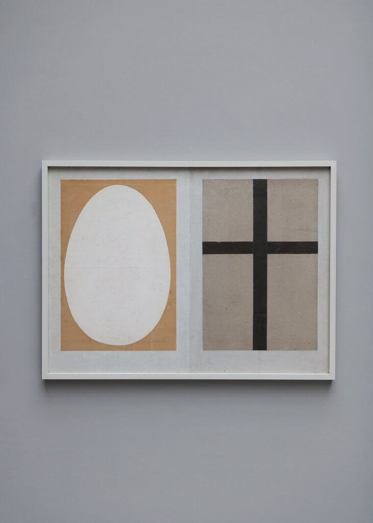 Art work by a danish artist from the 1960's