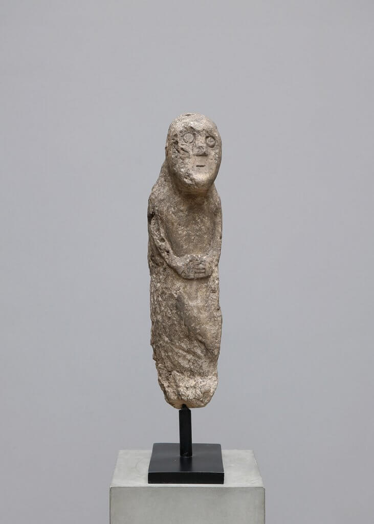 Indonesian sculpture in sandstone from the 20th century