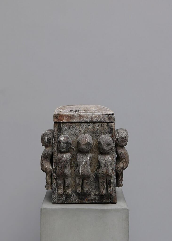 Antique medicine box from indo
