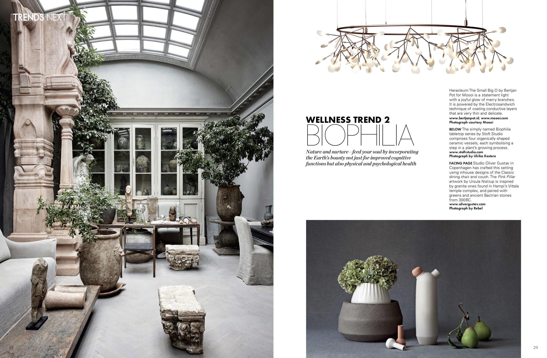 Studio Oliver Gustav featured in Elle Decor India