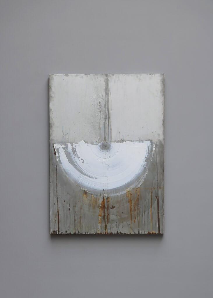 Art Piece made in zink by swedish artist