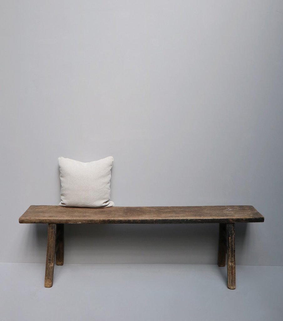 Antique wooden bench form China