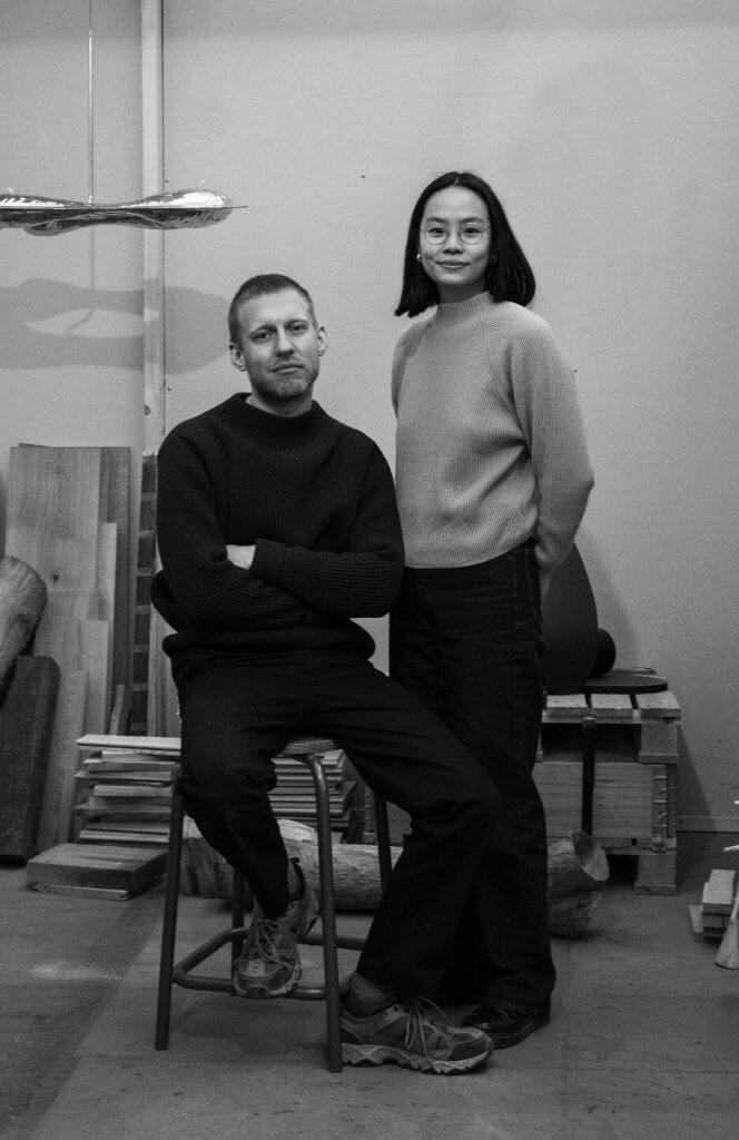 Design duo Christin+Jade - Christian Hammer Juhl and Jade Chan
