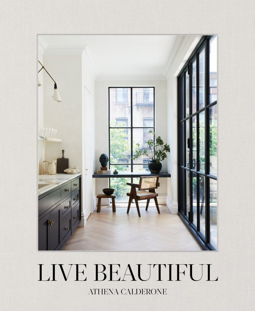 Live Beautiful interior design book featuring Oliver Gustav by Athena Calderone