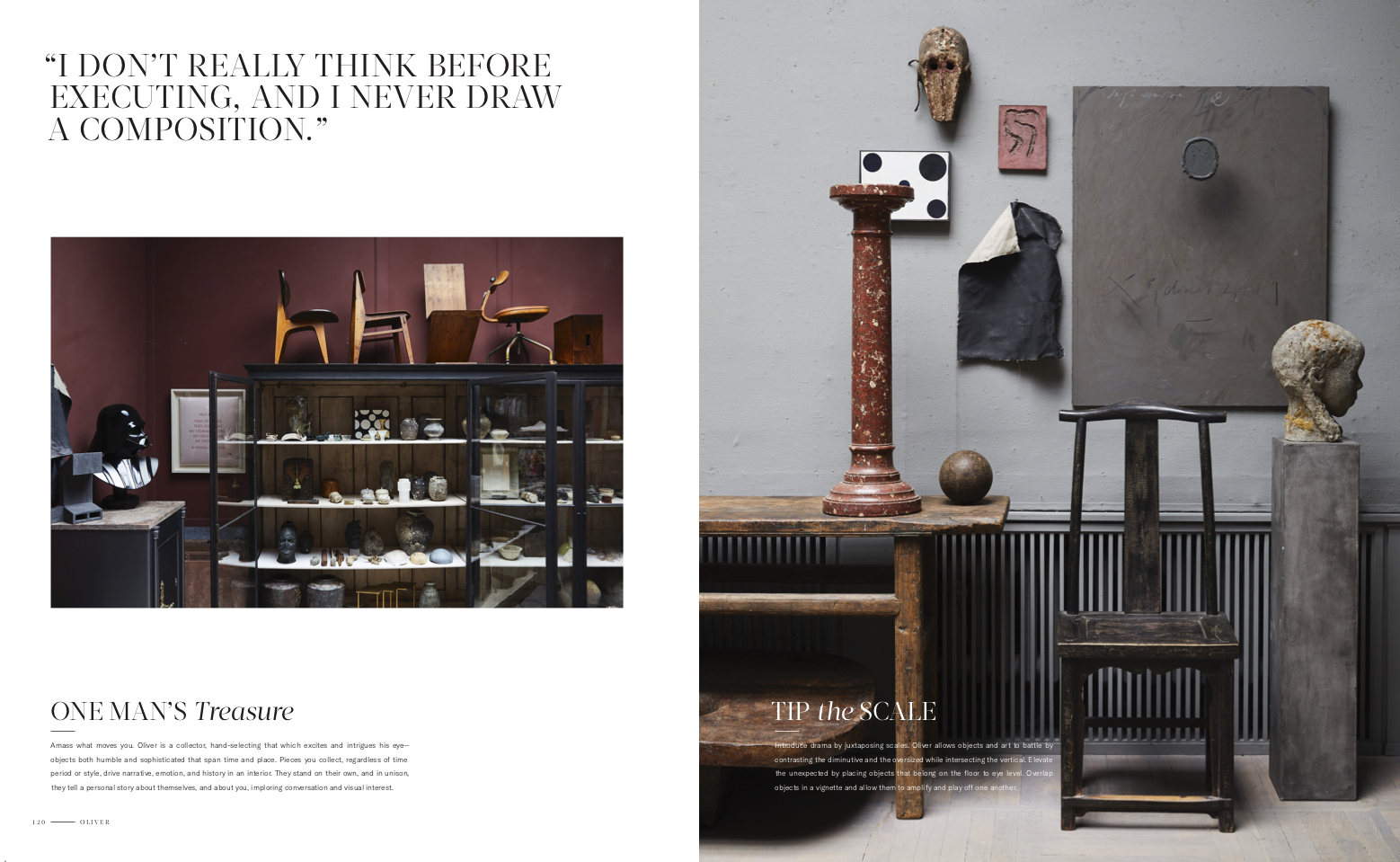 Live Beautiful interior design book featuring Oliver Gustav by Athena Calderone