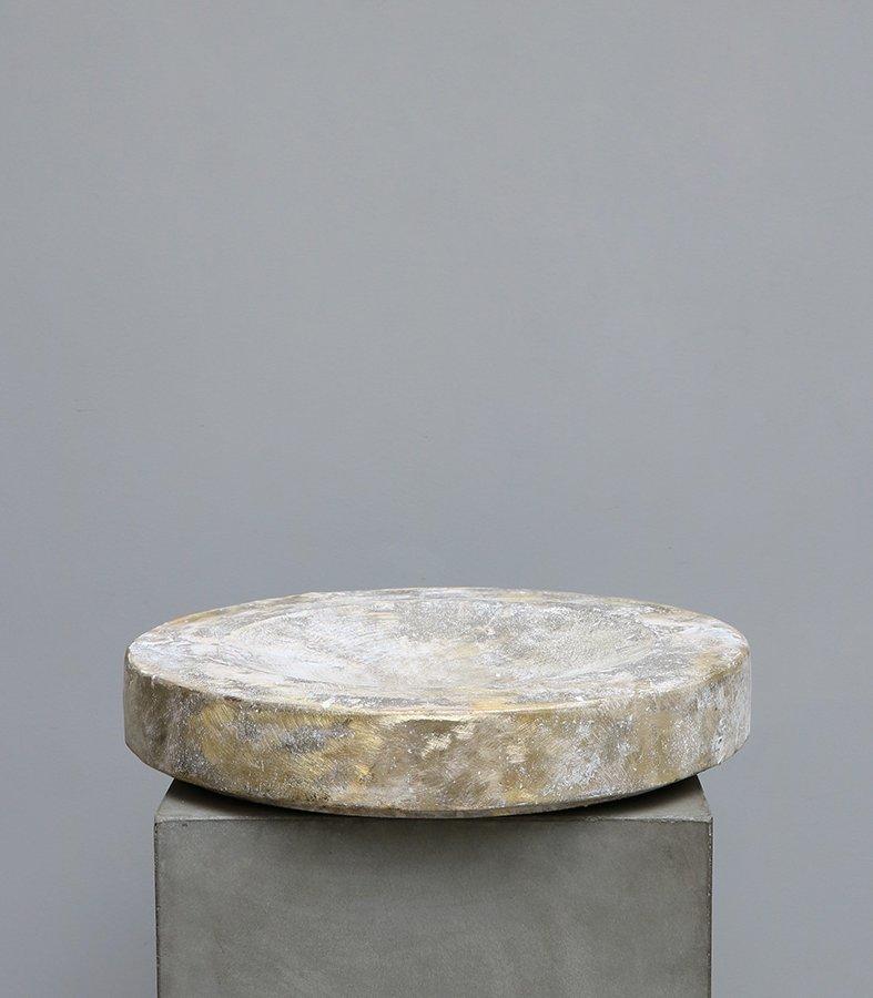 Bowl in brass by michael verheyden